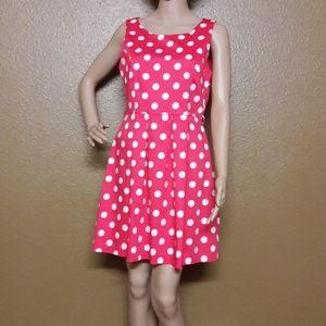 Have Polka Dot dress Size  L